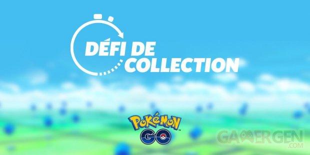 Pokémon GO défi de collection 06 01 2021