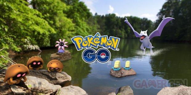 Pokémon GO Études de terrain Roche 25 05 2018