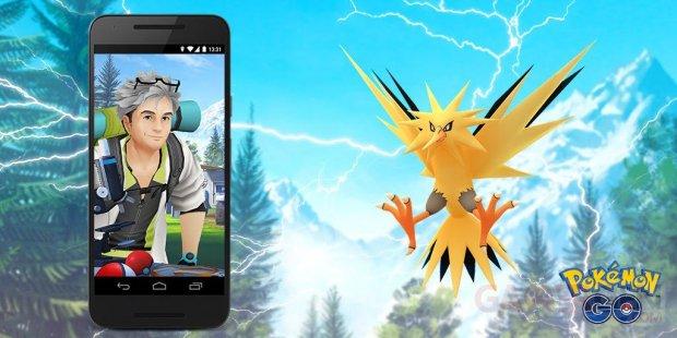 Pokémon GO Études missions légendaire Électhor