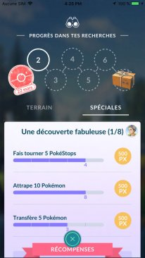 Pokémon GO Études screen 2