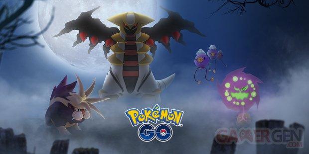 Pokémon GO event évènement Halloween 2018 image