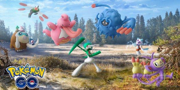 Pokémon Go évolutions Sinnoh 01 02 2019