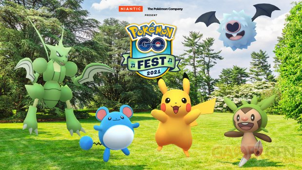 Pokémon GO Fest 2021 head