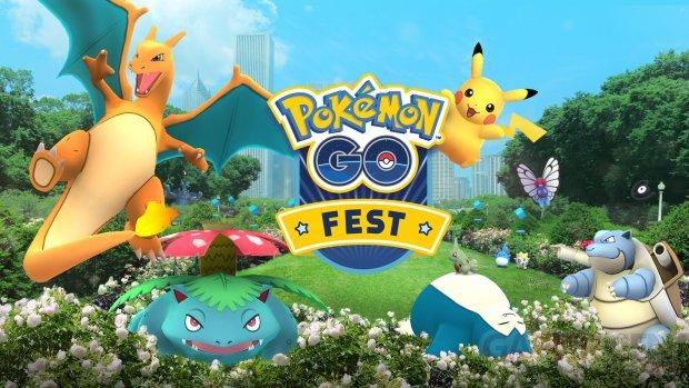 Pokémon GO festival anniversaire