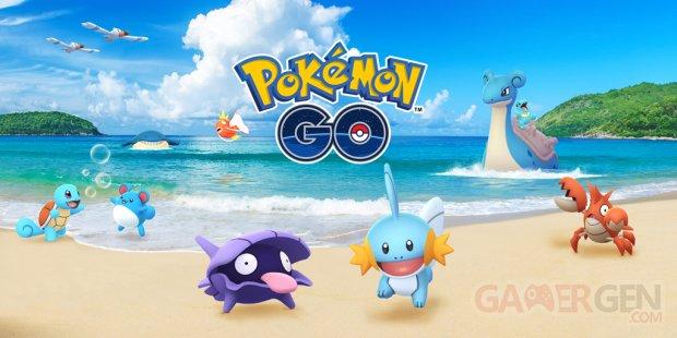 Pokémon GO Festival Aquatique 2018