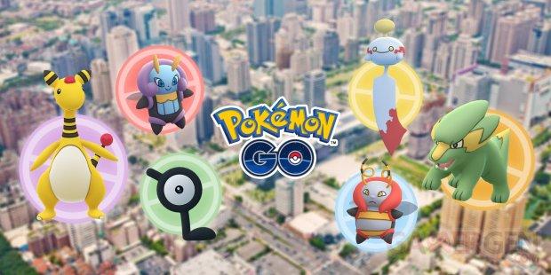 Pokémon GO Festival des Lanternes Taiwan 22 01 2020