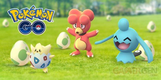 Pokémon GO Festival des Œufs 2018