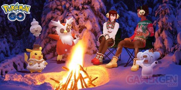 Pokémon GO Fêtes hiver 16 12 2020
