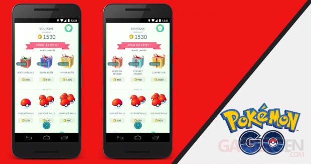 Pokémon GO Holiday Bundles FR