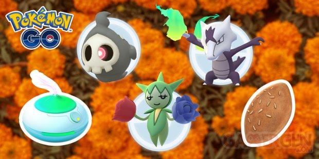 Pokémon GO Jour des Morts 2020