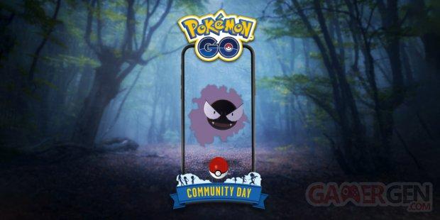 Pokémon GO Journée Communauté Fantominus 02 07 2020