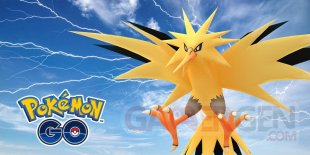 Pokémon GO Journée Électhor légendaire