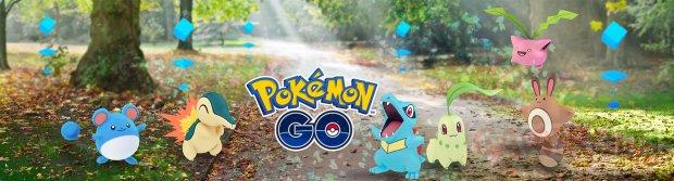 Pokémon GO logo bannière 2e génération