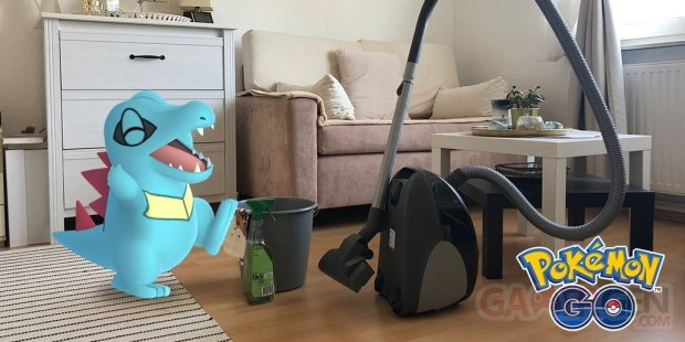 Pokémon GO maison domicile