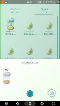 Pokémon GO MAJ 0 31 0 screen6
