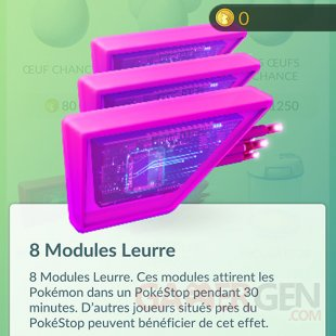 Pokémon Go modules Leurre