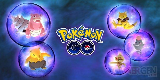 Pokémon GO octobre 2018 Fantasmagorie Psy