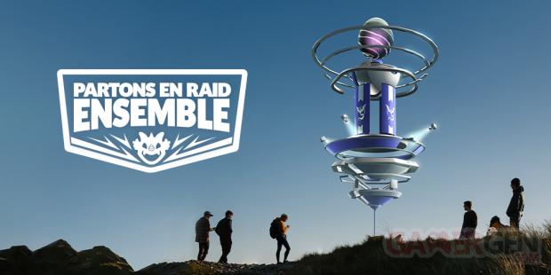 Pokémon GO partons en Raid ensemble