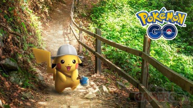 Pokémon GO Pikachu explorateur 16 12 2020