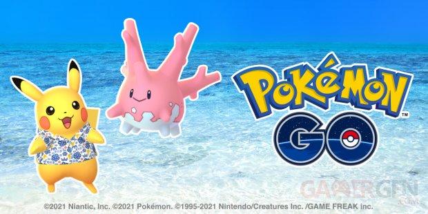 Pokémon GO Pikachu Okinawa