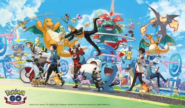Pokémon GO PoGO anniversaire event celebration