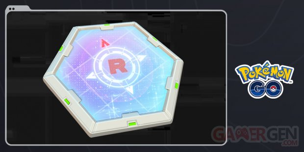 Pokémon GO Radar Rocket