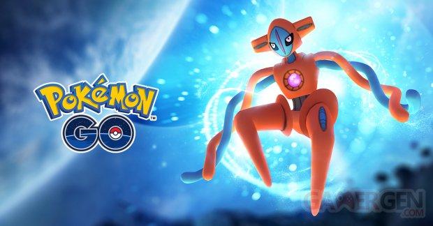 Pokémon GO Raid Ex Deoxys