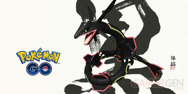 Pokémon GO Rayquaza chromatique