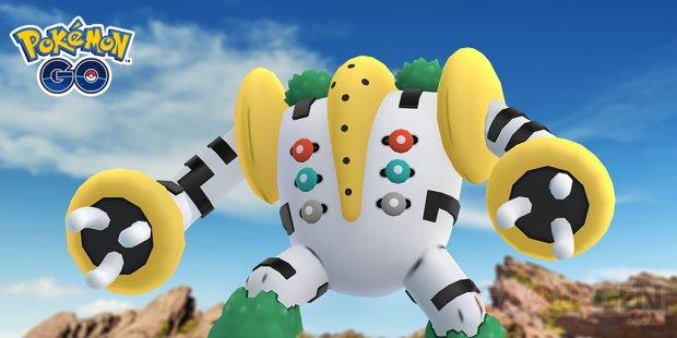 Pokémon GO Regigigas 1