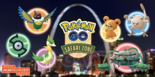 Pokémon GO Safari Zone Saint Louis 22 01 2020