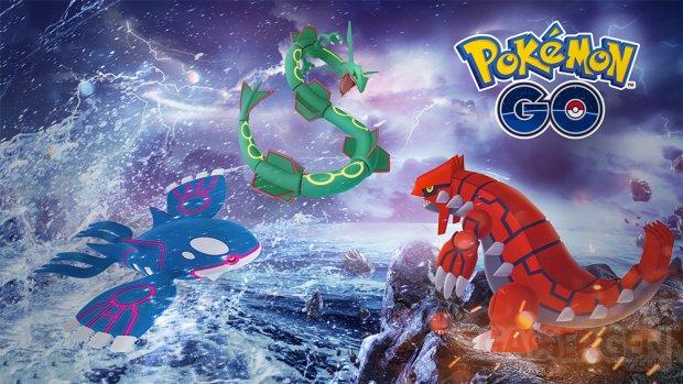 Pokémon GO semaine légendaire 2018 logo