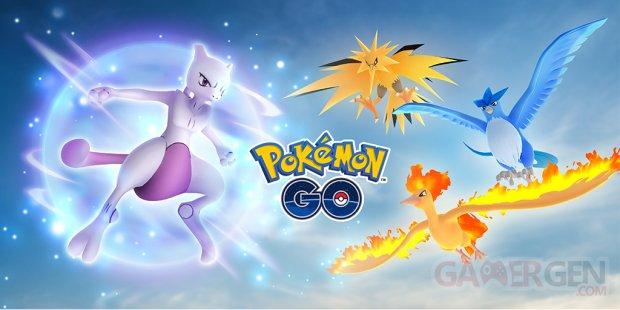 Pokémon GO septembre 2018 Défi de recherche mondial légendaires boss Raids