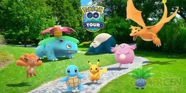 Pokémon GO Tour Kanto Circuit Pokémon GO