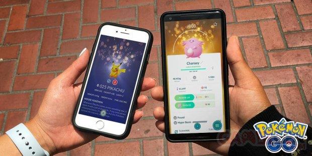 Pokémon Go trade échange