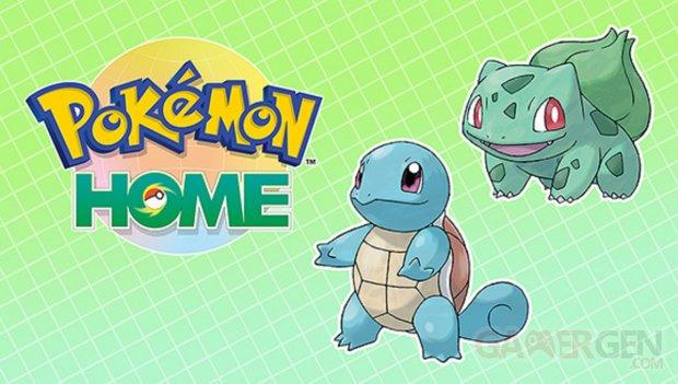 Pokémon Home Carapuce Bulbizarre Gigamax