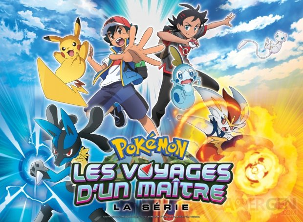 Pokémon la série les Voyages d'un Maitre 06 05 2021 key art