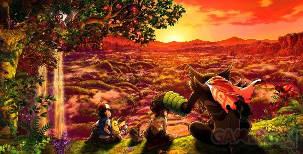 Pokémon le film Coco key art