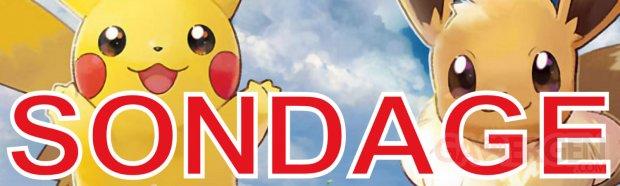 Pokémon Let's Go, Pikachu et Évoli sondage semaine image (2)