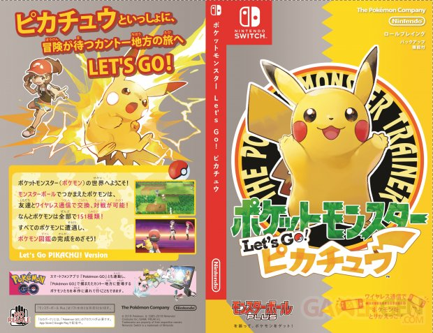 Pokemon Let s Go Pikachu [JAPANESE]
