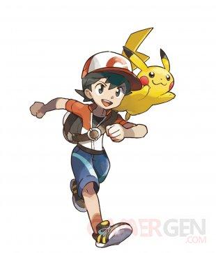 Pokémon Lets Go Pikachu Evoli artwork 01 30 05 2018