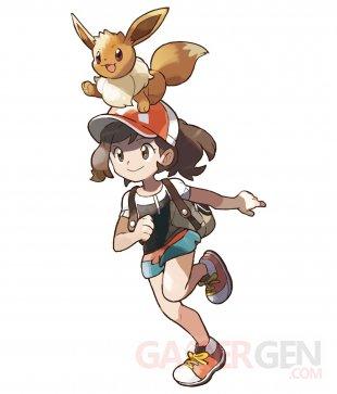 Pokémon Lets Go Pikachu Evoli artwork 02 30 05 2018