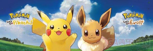 Pokémon Lets Go Pikachu Evoli bannière 30 05 2018