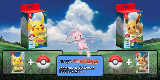 Pokémon Lets Go Pikachu Evoli bundle 12 06 2018