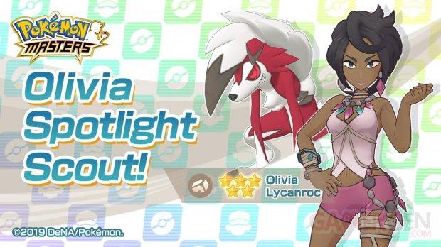 Pokémon Masters Olivia