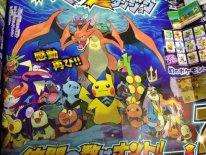 Pokémon Méga Donjon Mystère scan corocoro juillet 2015 (2)