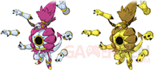Pokemon ROSA Mega Hoopa