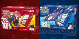 Pokémon Rubis Oméga et Saphir Alpha 2DS Europe