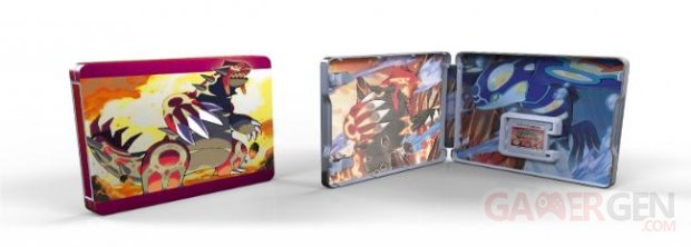 Pokémon Rubis Oméga et Saphir Alpha edition limitee steelbook (1).