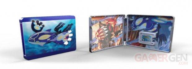 Pokémon Rubis Oméga et Saphir Alpha edition limitee steelbook (2).