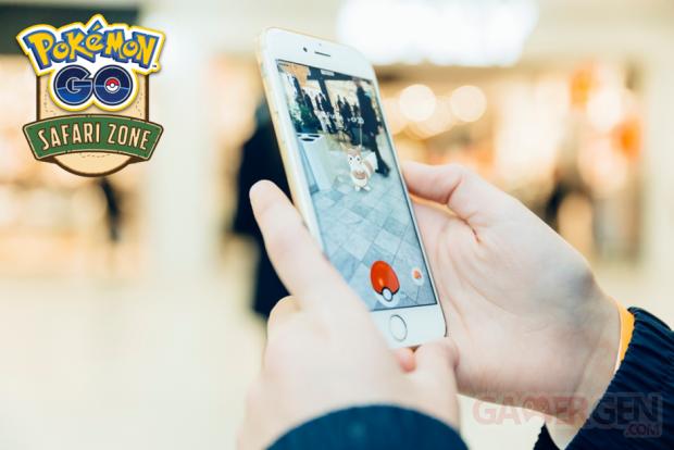 Pokemon Safari Zone Les Quatre Temps
